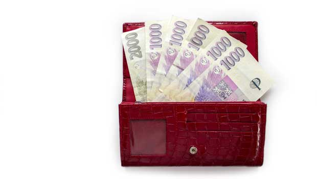 Nebankovní společnost - zaplo.cz - půjčka do výplaty - foto plná peněženka peněz