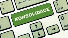 Konsolidace půjček na klávesnici