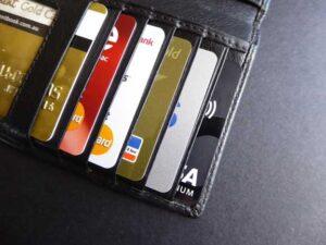 Kreditní karty v peněžence