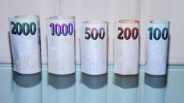 Obrázek peněz z půjčky