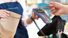 Placení u pokladny kartou