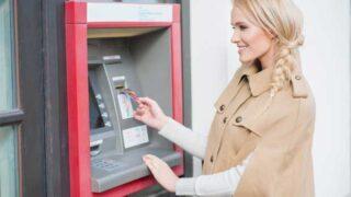 Bankovní půjčky - foto - výběr z bankomatů
